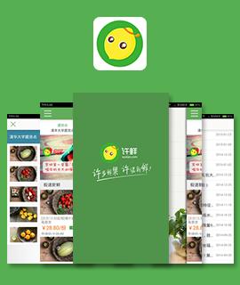 东方智启科技APP开发-深圳许鲜app开发案例
