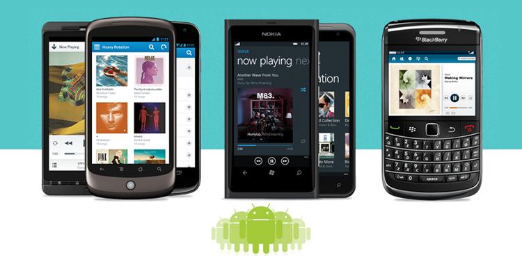 手机产品推广页面设计