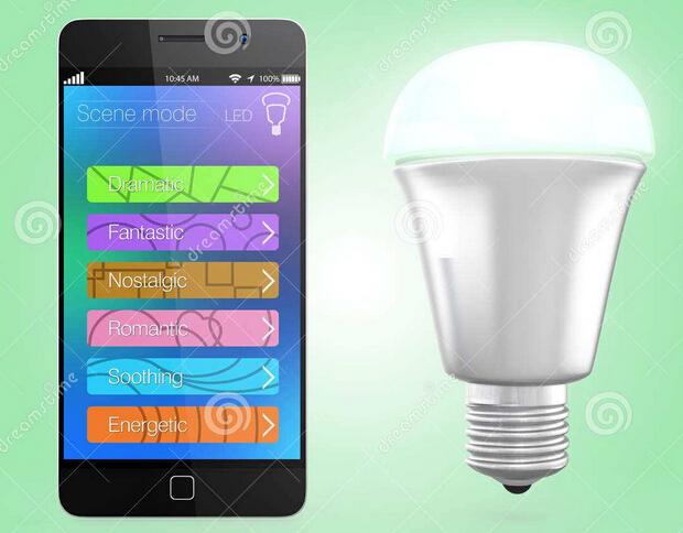 东方智启科技APP开发-智能LED灯APP控制系统开发解决方案