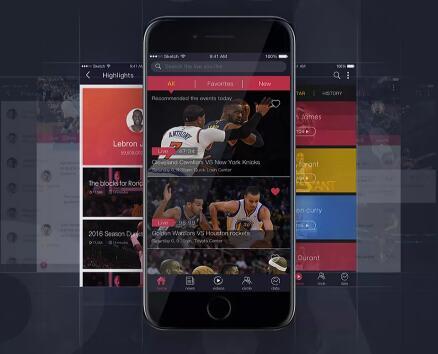 NBA直播APP軟件開發
